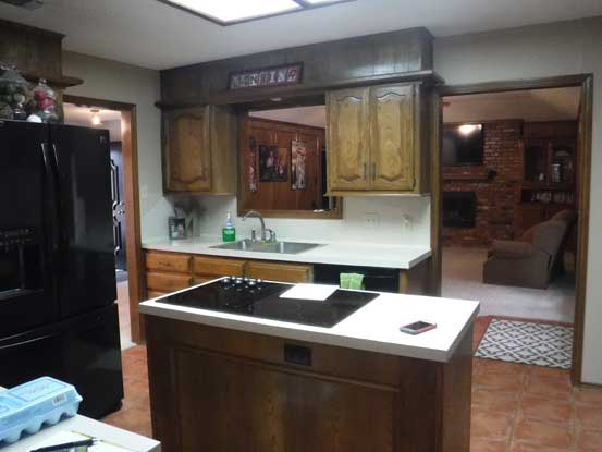 Kitchen Remodels Before And After Photos DreamMaker Bath Kitchen Lu